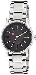 DKNY End of Season Analog Black Dial Womens Watch - NY2268