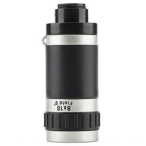 Super Clear 8 × 18 Monocular Handy Teleskop Alle Optischen Glaslinse Portable Für Birdwatching Reisen Outdoor Sightseeing Sport Beobachten Klettern (Klettern Beobachten)