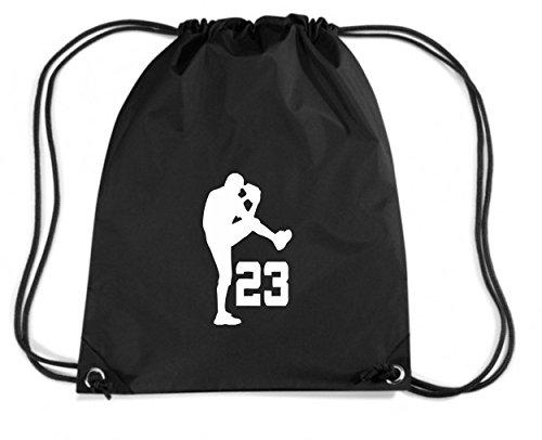 T-Shirtshock - Rucksack Budget Gymsac OLDENG00391 baseball uniform number 23, Größe Kapazität 11 Liter