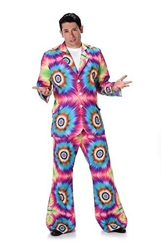 Karnival Costumes  - Hippie Kostüm Tie-Dye für -