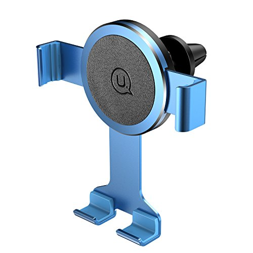 Usams Car Phone holder,Air Vent Phone Mount Cell Phone Holder for Car One Step Mounting Car Mount 360°Rotatable Car Cradle for iPhone X XR XS Max 8/7/6/5S/5C Samsung Galaxy S9 S8 S6 HTC LG Sony Huawei