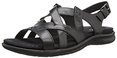 55f76534249a ECCO Women s s Babett Sandal Open Toe  Amazon.co.uk  Shoes   Bags