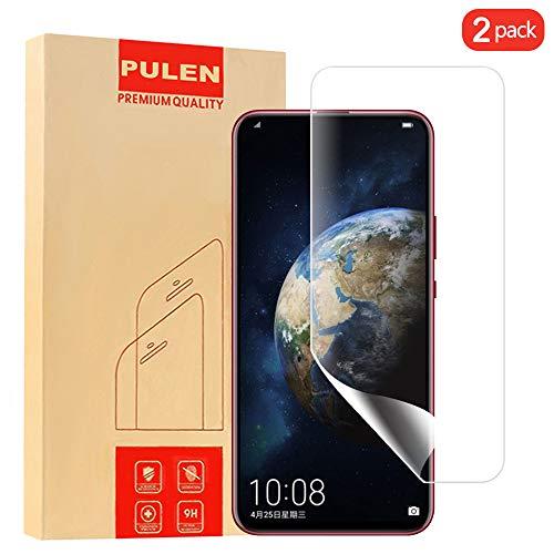 Pulen Bildschirmschutzfolie für Huawei Honor Magic 2, flüssige Haut (kein Glas) HD blasenfreie [Anti-Fingerabdrücke] Flexible Folie für Huawei Honor Magic 2 (2 Packungen)