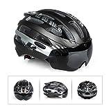 Cambano Fahrradhelm Fahrradhelm Sicherheit Fahrrad/Kletterhelm mit abnehmbaren magnetischen tragbaren Rucksack einstellbar für erwachsene Männer/Frauen Berg