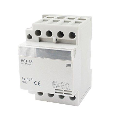 100/120-V-Coil Volt 63A 4 Pole Electric Power AC schakelaar blok (120v Coil)