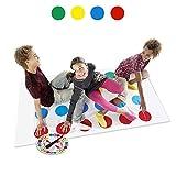 LOVEXIU Family Floor Gioco, Gioco del Giardino Pad Tappetino,Gioco di società, Giochi da Tavolo, Giochi di abilità Divertenti per Bambini e Adulti