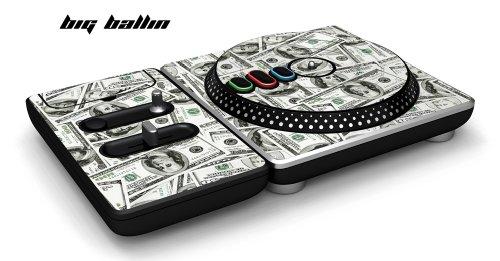"""DJ Hero Turntable Controller Schutzfolie, passt für Xbox 360, Playstation 2 & 3, Nintendo Wii - \""""Big Ballin\"""""""
