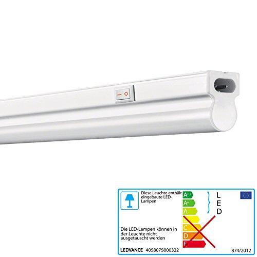 LEDVANCE-OSRAM Linear LED Lichtband-Leuchte, für Innenanwendungen, 1173 mm x 28,0 mm x 36,0 mm, warmweiß