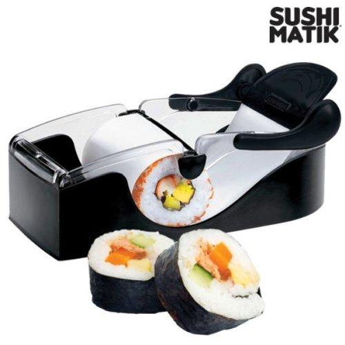Appetitissime Matik Máquina de Sushi, Negro, 11x20.8x8 cm