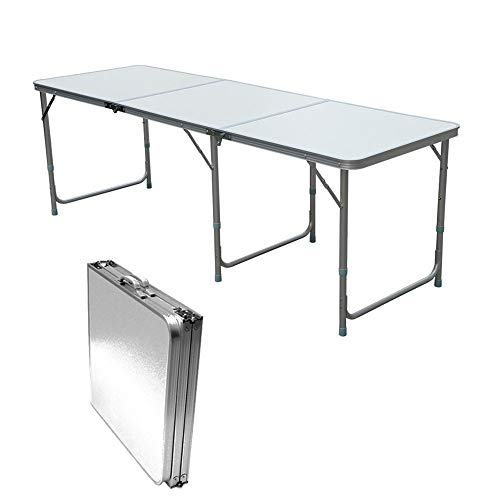 Jason 4FT/6FT Aluminium Pliant Table De Voiture Décrochage Buffet/Mariage /  Jardin/Street Party in/Out Porte/Marché / Fête/Fair Foldaway