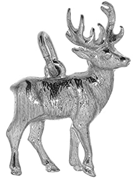 Derby Anhänger Hirsch Sterling-Silber 925 - 23956