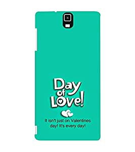 EPICCASE day of love Mobile Back Case Cover For Infocus M330 (Designer Case)