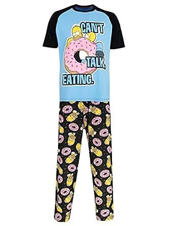 Simpsons les ensembles de pyjama homer homme - Vetement simpson ...