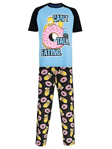 Simpsons Herren Homer Schlafanzug XX-Large
