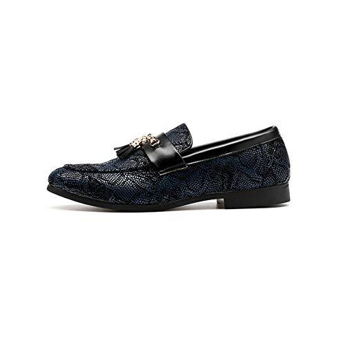 Männer Party Schuhe Quaste Kleid Schuhe Casual Müßiggänger (Clarks Kleid Casual)