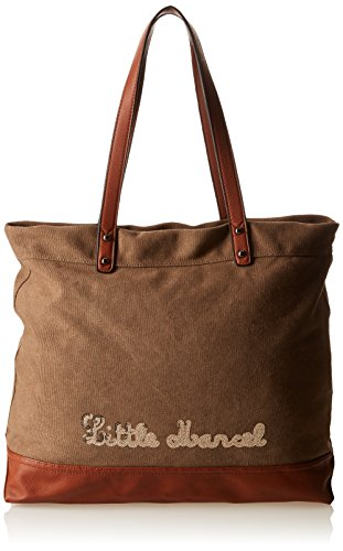 Little Marcel Hello, Borsa a spalla donna , Marrone (Marrone (Brown)), Taille Unique
