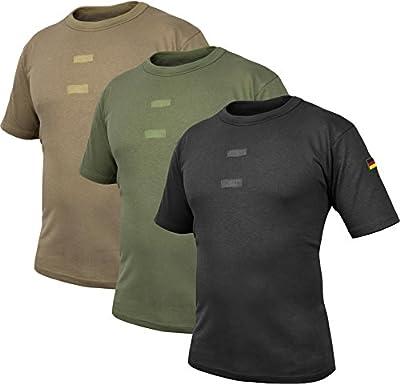 BW Tropen Unterhemd mit Klett und Nationalitätsabzeichen Neu Bundeswehr T-Shirt von normani® auf Outdoor Shop