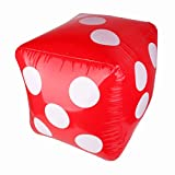 Imported Inflatable Large Dice Toys 23.6 inch