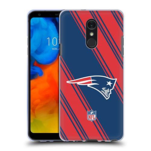 Head Case Designs Offizielle NFL Streifen 2017/18 New England Patriots Soft Gel Huelle kompatibel mit LG Q Stylus/Q Stylo 4 Str Stylus
