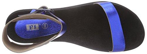 P1 - 313005, Sandali alla schiava Donna Blu (Blu)