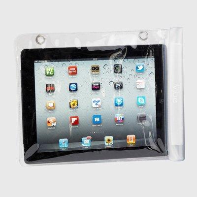 """Vibe-Borsa da viaggio, misura L, impermeabile, colore: trasparente satinato per iPad, la maggior parte dei tablet da 10,1 """""""