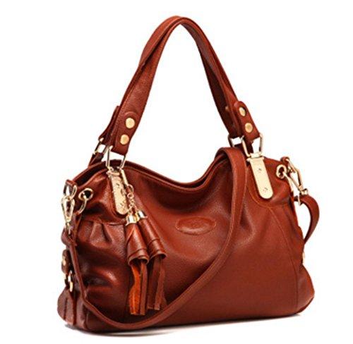 ZXH neue Mode Handtasche Handtasche Schultertasche Messenger Bag C