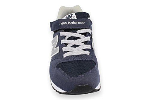 Basket, couleur Blue , marque NEW BALANCE, modèle Basket NEW BALANCE KV996 CNY Blue Bleu marine-Gris
