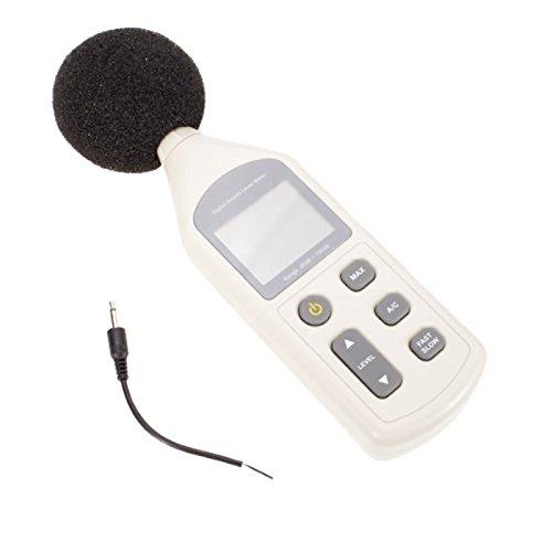 LCD digital Sonómetro Medidor Ruido corriente medidores