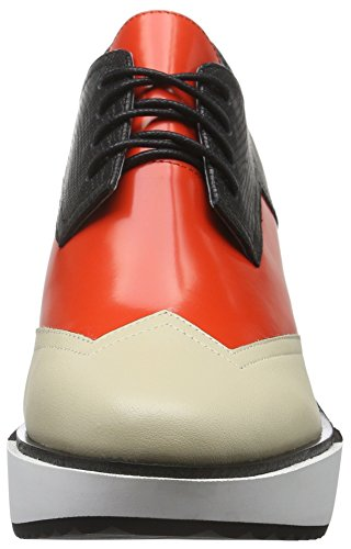 United Nude Geo Wing Mid, Scarpe Stringate Donna Beige (Beige (Mist Hot Red))