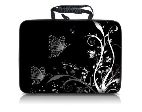 """Sidorenko Designer Notebooktasche Hardcase Größe 39cm von 15"""" bis 15,6"""" Zoll"""