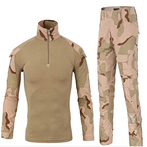 671d8f3f54 Costume de sport de camouflage du désert, costume de chasse Ghillie Costume  de camouflage du