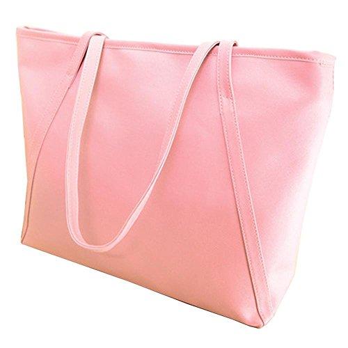 Warm Girl, Borsa a spalla donna rosa Pink Pink