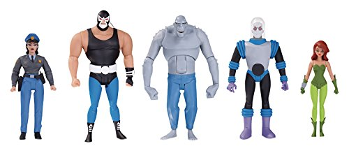 Batman the Animated Series Gcpd Rogues Gallery Action Figure 5-Pack