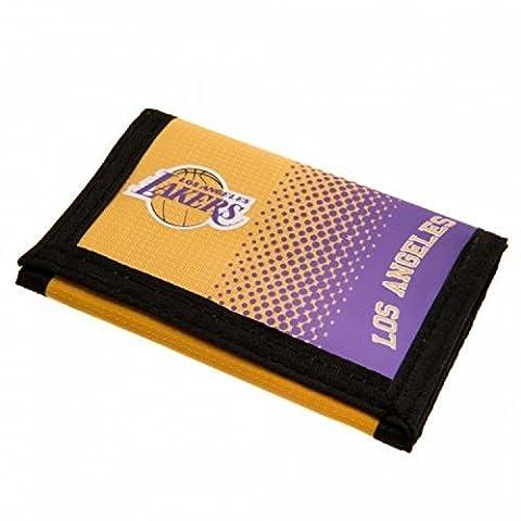 LA Lakers - Porte-monnaie NBA (Taille unique) (Noir/Blanc)