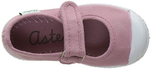 Aster Isaline, Ballerines Bébé Fille Rose (Rose Antic)