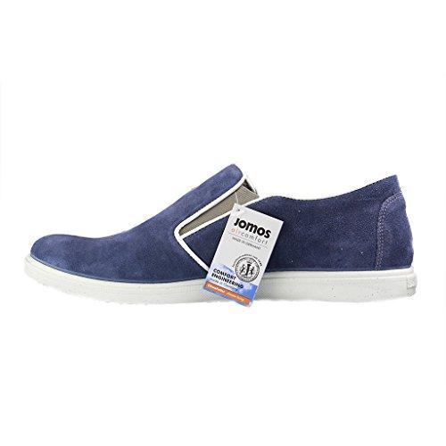 Jomos 316316Homme Chaussons–851Bleu Chaussures en übergrößen Bleu - Bleu