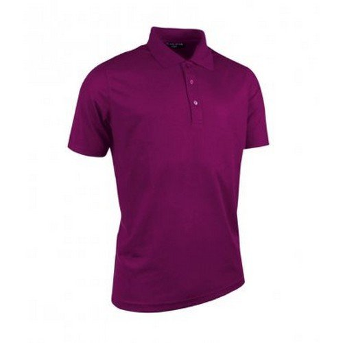 Polos respirants Glenmuir violets homme frG4iwY9fy