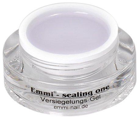 Emmi-Nail Studioline Versiegelungs-Gel: Hochglänzendes UV-Gel für perfektes Nagel-Design, mittelviskos, selbstglättend, schützt Gelmodellagen, 15 ml