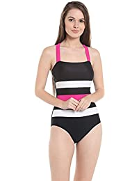 Nidhi Munim Fashionable Women's Stylish Retro Bandage Swimsuit