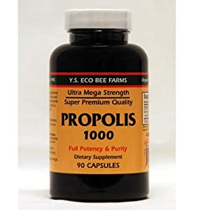 Y.S. Organic Bee Farms, Propolis 1000, 90 Capsules from Y.S. Organic Bee Farms