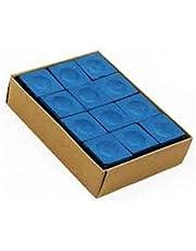 CLUB 147 Pool Chalk 12 PCS Blue