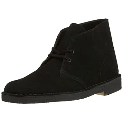 Clarks Originals Desert Boot, Men's Lace-Up Boots - Black (Black Sde), 41 EU