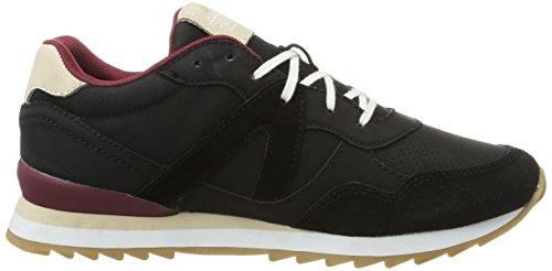 ESPRIT Damen Astro Lace Up Sneakers Schwarz (001 Black)