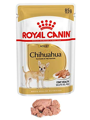 Maltbys' Stores 1904 Limited 12 x 85g (wet pouch) Royal Canin CHIHUAHUA ADULT IN LOAF Breed Health Nutrition Dog food