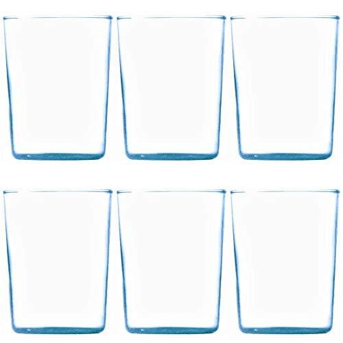Viva-Haushaltswaren 6 Teegläser / Glaseinsätze / Ersatzgläser ohne Henkel