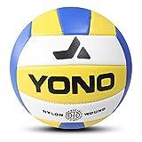 GNSDA GNSDA Beach Volleyball, Soft Volleyball - Wasserdichter Soft Beach Volleyball & Indoor Volleyball Ballspiel, Freizeitball für alle Altersgruppen, aufblasbar