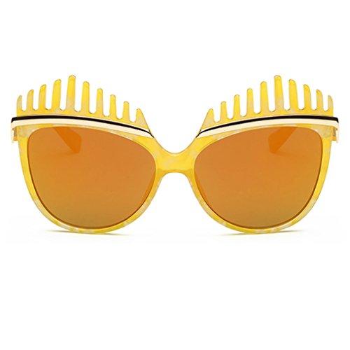 Minzhi NEUE Art-Frauen-Dame PC-Rahmen im Freien Sonnenbrille-Glas-Brillen