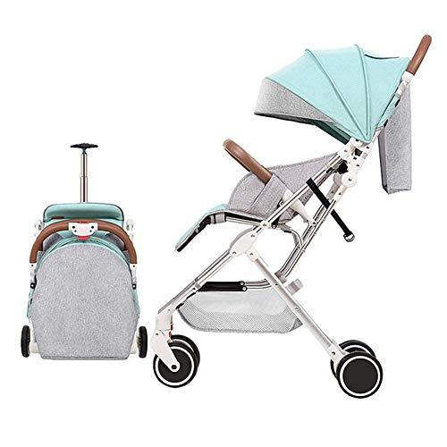 Cochecitos De Bebé Cochecito Para Sombrilla De Bebé Cuna Carrito De Bebé Bebé De Viaje Carrycots Bassinets Con Dosel Puede Sentarse Y Acostarse Azul