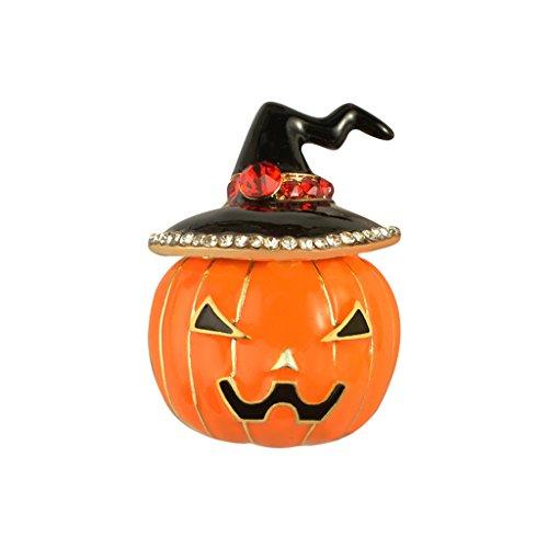 Gazechimp 1x Brosche Halloween Kürbis Muster Thema Party Schmuck Unisex Anstecknadeln