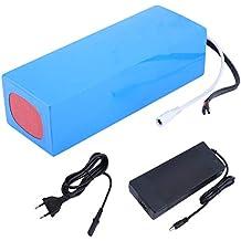 Funnyrunstore 48V 10AH 480W Práctica de reemplazo Batería de Litio Batería de ión de Litio para
